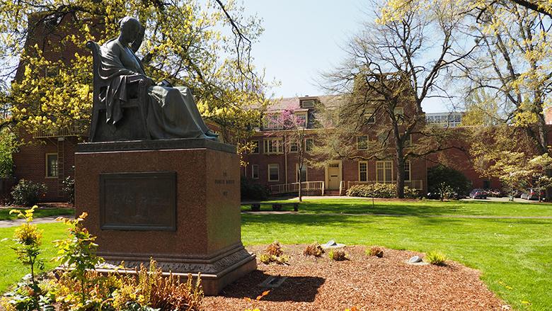 Pioneer Mother statue